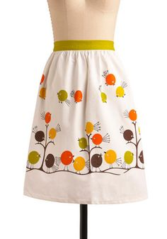 flock apron... if i was ever going to wear an apron, i would choose this one!