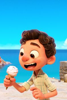 See the Official Trailer For Luca, Pixar's June Release About a Young Boy With a Big Secret