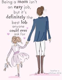 That's all I wanna do! Being a mom is the best part about life!!