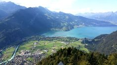 Yesterday's view from Harder Kulm. It was such a beautiful day! :-)