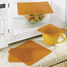 Microwave covers! Brilliant!