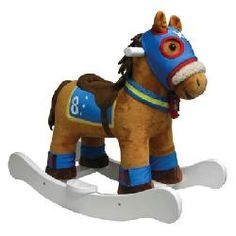 Are your kids ready to race? Charm Flash the Racing Rocking Horse is dressed to the nine and ready for a high-speed gallop! Gift Finder, Dressed To The Nines, Cool Gifts, Bowser, Scooby Doo, Racing, Charmed, Hadley, Rockers