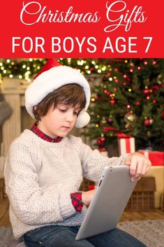 Gifts for Teen Boys Find the best Christmas presents for 7 year old boys in our gift guide. Find the best Christmas presents for 7 year old boys in our gift guide. Christmas Presents For 7 Year Olds, Christmas Present Guide, Christmas Gifts For Boys, Gifts For Teen Boys, Tween Gifts, Cool Gifts For Kids, Gifts For Teens, Christmas Fun, Holiday