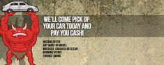 Top Cash for Junk Cars Removals Are you planning to get rid of your junk or scrap car that is becoming an eyesore to your clean and tidy property? Remove that Junker with Wreckmonster and get paid in full. Yes, we pay decent cash for junk cars and remove them for free. Contact us today.