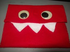 Monster Coin Purse on cutoutandkeep.net posed by Haley and a version of one by Katherine B.