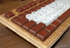 If you get hungry at work with this keyboard you just snack on the letters your not using that often. LOL
