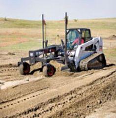 Bobcat grader attachment   Construction Equipment