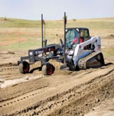 Bobcat grader attachment | Construction Equipment