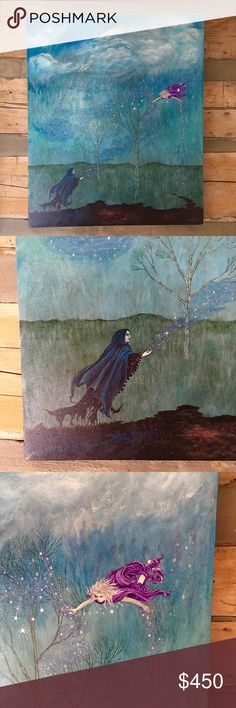 Star Wizard Canvas Painting By Melissa W. McDonald painted in 2013 Other