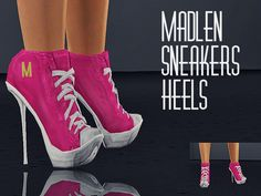 I hope you'll like my new shoes :) Found in TSR Category 'Sims 3 Female Clothing' Sims 3 Shoes, Sneaker Heels, Sneakers, The Sims4, Sims Cc, New Shoes, Clothes For Women, Female Clothing, Woman Shoes