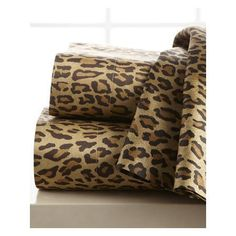 Ralph Lauren Leopard-Print Sheet Set