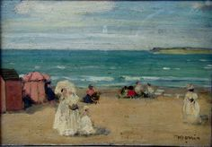 On thé Beach, St Malo