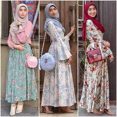 hijab outfit ideas – Just Trendy Girls Hijab Casual, Hijab Outfit, Hijab Dress Party, Hijab Style Dress, Casual Chic, Muslim Women Fashion, Islamic Fashion, Korean Fashion, Abaya Fashion