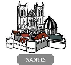 Nantes - boardgame Pélotone1903 Board Games, Cycling, Nantes, Biking, Tabletop Games, Bicycling, Ride A Bike, Table Games