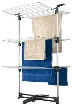 Oferta: 49.52€. Comprar Ofertas de Metaltex 405870099 Ciclone - Torre de tendederos (3 pisos) barato. ¡Mira las ofertas!