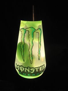 My son's obsession is MONSTER ENERGY, so,of course, my son has to have a Monster Energy Lava Lamp!