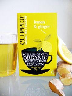 Clipper Lemon & Ginger