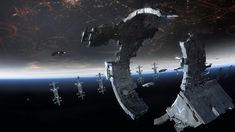 Dreadnought - Spacestation - Concept Art - www.playdreadnought.com