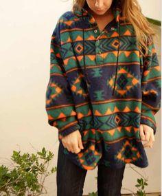 Aztec hoodie sweater