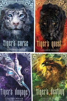 Tiger Curse Series... Just finished number 4 and I can officially say that these are hands down the BEST books I have ever read ❤