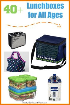 40+ Lunch Boxes for all Ages including Bento Boxes & more!