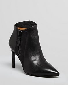 Via Spiga Pointed Toe Booties - Ibis High Heel | Bloomingdale's