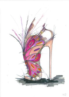 The sketches of shoes for the Victoria's Secret fashion show will blow your mind:
