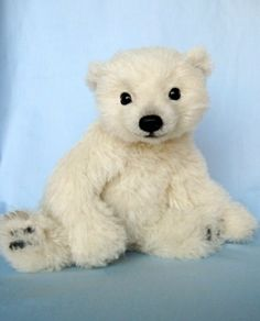 Joanne Livingston- Realistic Polar Bear Teddy;Concho | Flickr - Photo Sharing!