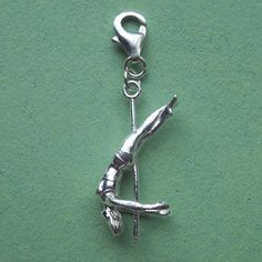 Serena charm on a clip to add to any charm bracelet.