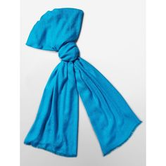 Calvin Klein Women's CK Logo Pashmina Scarf ($25) ❤ liked on Polyvore featuring accessories, scarves, blue, fringe scarves, calvin klein, blue scarves, calvin klein scarves and fringe shawl