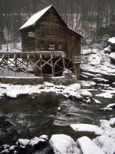 Old Mill, Babcock State Park, West Virginia