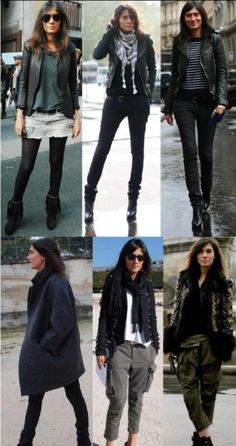 Emmanuelle Alt is a fashion director at french Vogue and I think she's got a really great style! I get lots of inspiration from her and her style is quite similair to mine. I have a pretty si… Style Casual, Casual Outfits, Fashion Outfits, Womens Fashion, Style Fashion, Style Work, Style Me, Style Blog, Vogue Paris