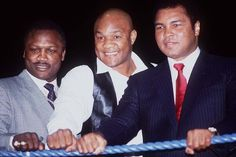 1971, Frasier, Foreman, Ali.  Here's the *original* Tres Amigos.