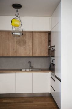 Tak mi się nie posoba Design My Kitchen, Kitchen Cabinet Design, Home Decor Kitchen, Interior Design Kitchen, Home Kitchens, Small Kitchen Remodel Cost, Small Kitchen Cabinets, Cocinas Kitchen, Modern Kitchen Interiors