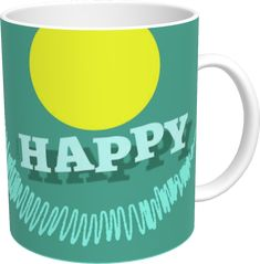 A little happy mug for a moment of happy pleasure! Facebook Art, Happy Moments, Art Pages, Online Gallery, In This Moment, Mugs, Digital, Instagram, Tumblers