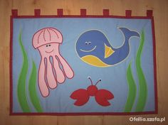 Makata makatka patchwork ocieplacz na ścianę nowa Scrappy Quilts