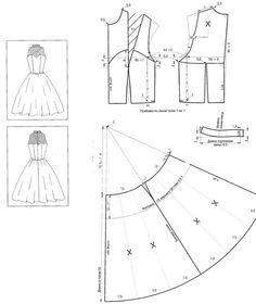 выкройка свадебного платья: 21 тыс изображений найдено в Яндекс.Картинках