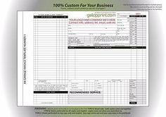 Invoice Books Custom Extraordinary Car Mechanic Service  Quote Pad  Book  Design 2  Ncr Invoice .