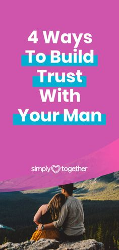 Trust is an important foundation necessary for any healthy and lasting relationship. These 4 useful tips for couples will help you understand how to build trust in a relationship or marriage.    #Relationship #BuildTrust #BoyfriendTips #MarriageAdvice #RelationshipTips Marriage Goals, Successful Marriage, Strong Marriage, Good Marriage, Marriage Relationship, Marriage Advice, Trust In Relationships, Understanding Men, What Women Want