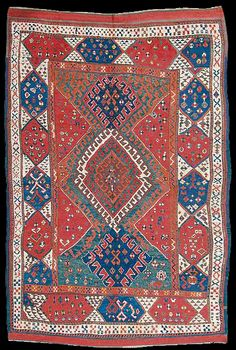 Nagel Sale 47T, Lot No. 24A Karakecili rug, West Anatolia, ca. 1850