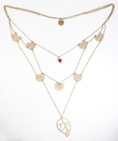 Designer Jewelry for a very special cause - Honey Willow Necklace - Gold