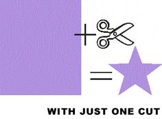 How To Make A 5 Point Star With One Cut