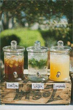 Wedding / Hochzeit | noch mehr Ideen für kühle Getränke im Sommer