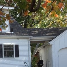 IKO Dynasty Architectural Shingles - This is a photo where the home connects to the garage. Rock Island Illinois, Architectural Shingles, Asphalt Shingles, Shed, Old Things, Garage, Outdoor Structures, Outdoor Decor, Home Decor