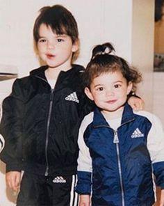 Kendall & Kylie Jenner  #tbt