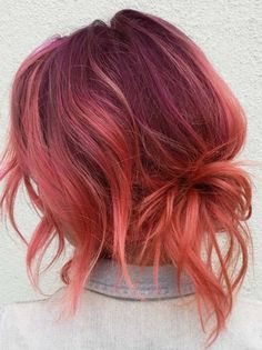 Charming Pulp Riot Red Hair Colors in 2018 Pulp Riot Hair Color, Res Hair Color, Hair Color Pink, Pretty Hair Color, Beautiful Hair Color, Hair Color 2018, Hair Goals Color, Hair 2018, Coral Hair