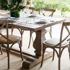 Lavender Hill Interiors is home to beautiful French provincial & Hamptons style dining tables. Make a statement in your dining room at an affordable price. Coastal Decor, Coastal Curtains, Coastal Style, Coastal Bedding, Coastal Lighting, Modern Coastal, Coastal Farmhouse, French Farmhouse, Coastal Bathrooms