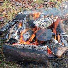 kampvuur tosti ijzer