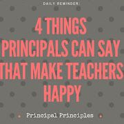 A principal blog about educational administration and school leaders.