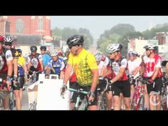 Bike enthusiasts and amateurs -- numbering near 20,000 this year -- meander across Iowa's highways every July for Ragbrai, a bike event centered more around camaraderie than competition.    Related Link: http://nyti.ms/9ZGYtE